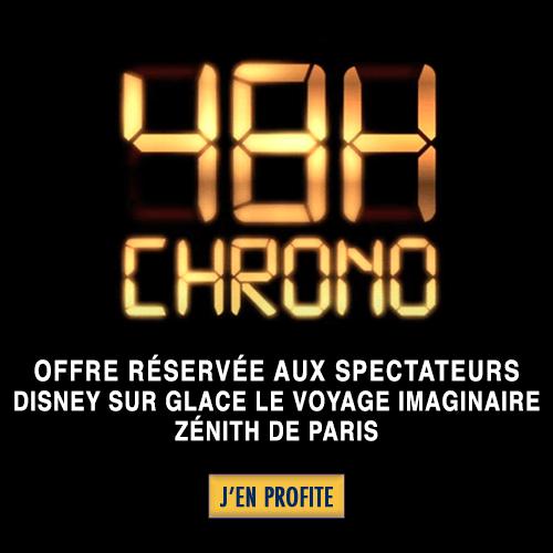 Disney Sur Glace - Offre 48H Chrono